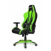 Кресло геймерское Akracing K700Q Black&Green V2
