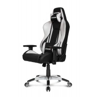 Кресло геймерское Akracing K700A Black&Silver V2