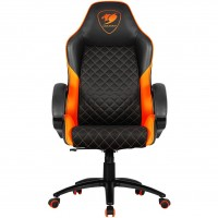 Кресло Cougar FUSION Black Orange