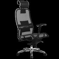 Кресло эргономичное Samurai S3.02 Metta Black
