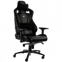 Кресло геймерское Noblechairs EPIC (NBL-PU-BLA-002) PU Leather / black